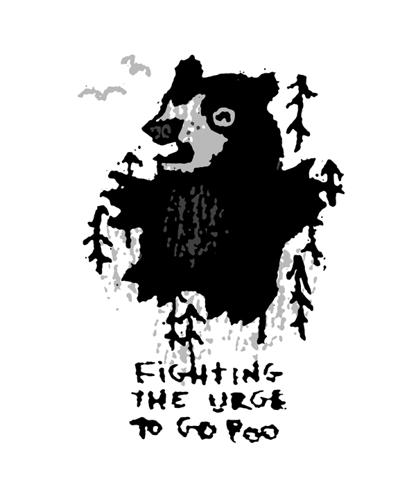 Petting Zoo Prints : Book : Bearfight