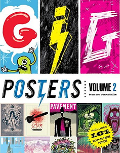 "Petting Zoo Prints & Collectables feature in Quirk Books' ""Gig Posters Volume 2"" by Clay Hayes - available worldwide"