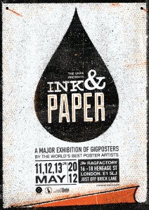 ink & paper - london poster exhibition - petting zoo ukpa