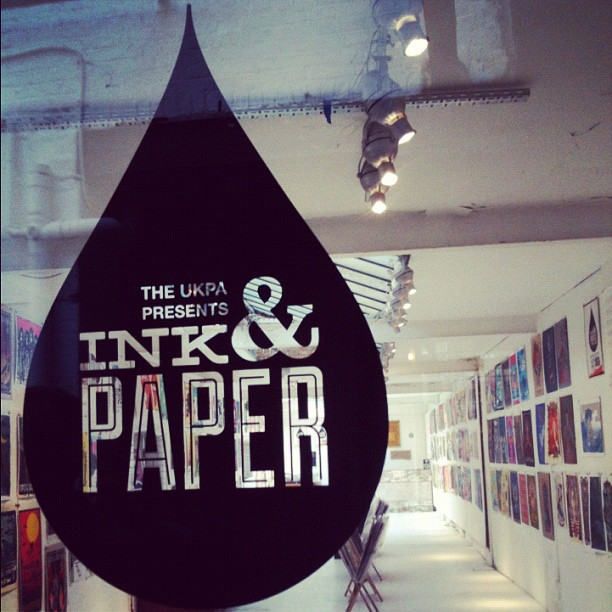 ink and paper exhibition