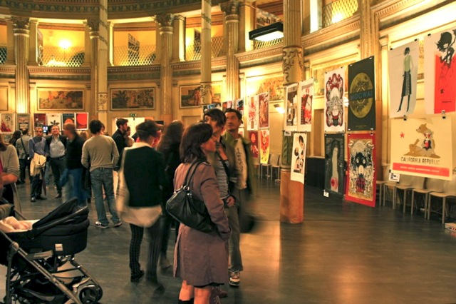 """Posters Rock!"" Gigposter exhibition in Rome featuring serigraphs by Petting Zoo Prints & Collectables"