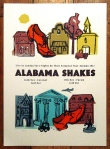 petting zoo poster for Alabama shakes - london concert memorabilia