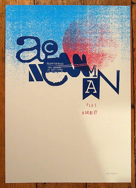 A.C. Newman concert memorabilia, poster by petting zoo prints and collectables.