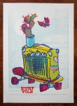 kurt vile and pall jenkins concert poster by petting zoo prints & collectables