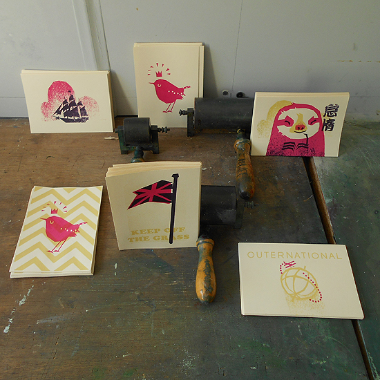 animal prints designed by Petting Zoo Prints & Collectables