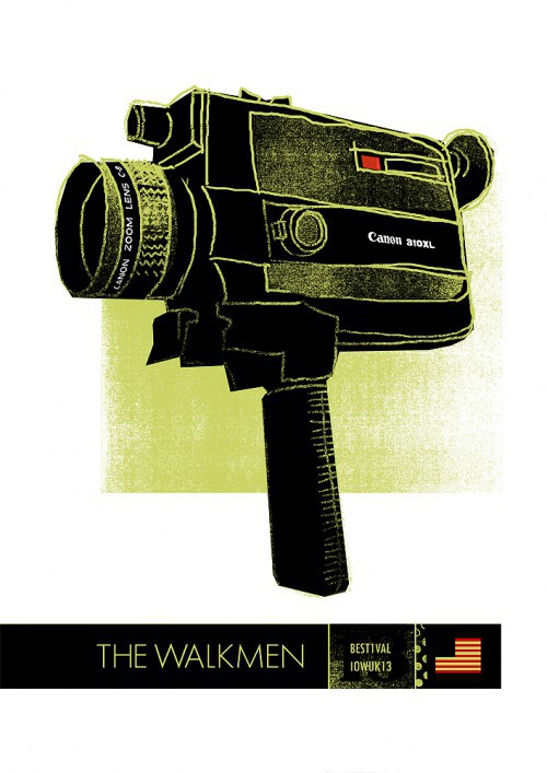 walkmen poster by petting zoo prints & collectables